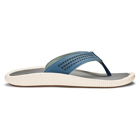 OluKai Ulele Sandals Men slate blue/charcoal